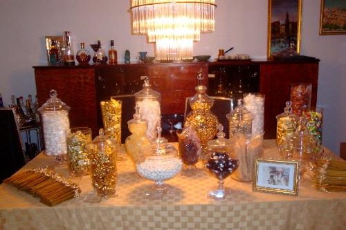 The ... - Wedding Details: Candy Buffet! RhodeyGirl Tests