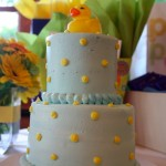 Reem's baby shower cake