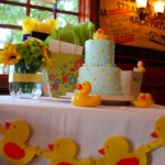 Reem's Baby Shower table