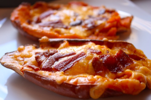 How Sweet's Savory Sweet Potato Skins | RhodeyGirl Tests