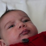 2 month baby Raffi