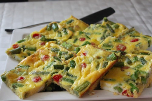 Easy Baked Frittata | RhodeyGirl Tests
