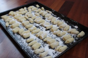 gnocchi homemade for Battle Aldi