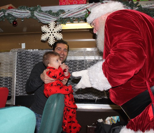 santa blackstone valley polar express
